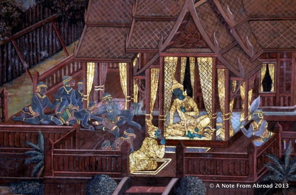 Mural, Grand Palace