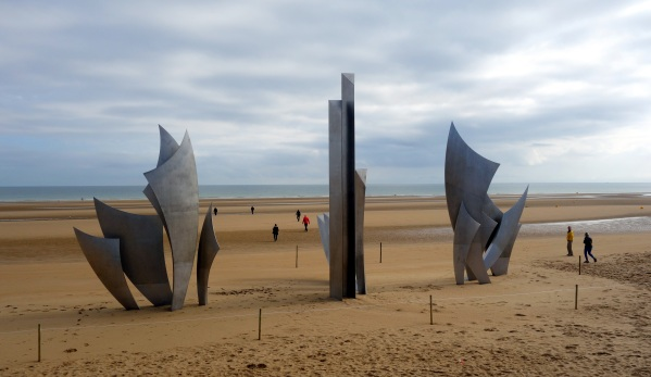 Memorial at Omaha Beach