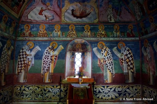 12th century Morača Monastery in Montenegro