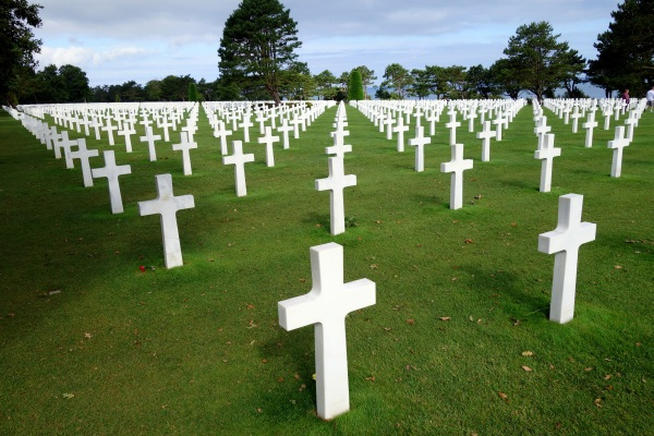 American Cemetery which overlooks Omaha Beach