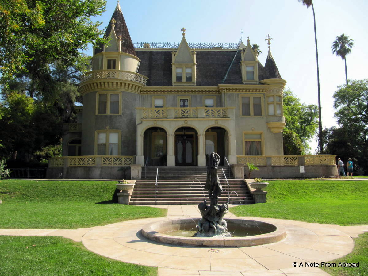 Kimberly Crest House And Gardens Redlands California A Note From Abroad