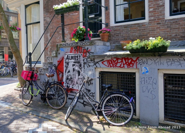 Amsterdam - It's all about bikes, canals, tulips, color, fun, and a bit of debauchery.