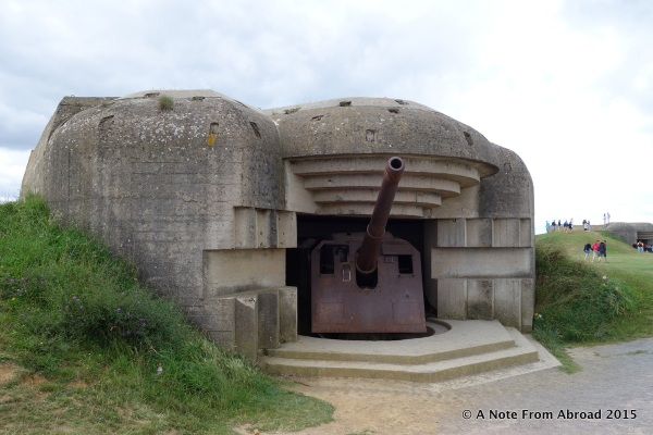 Closer look at a German bunker