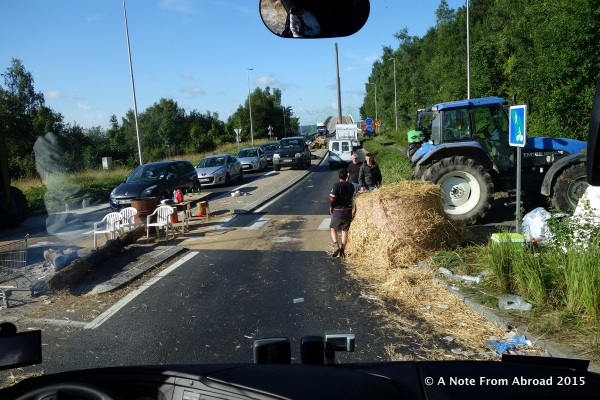 France ~ Farmers still on strike making it a BIG challenge ...