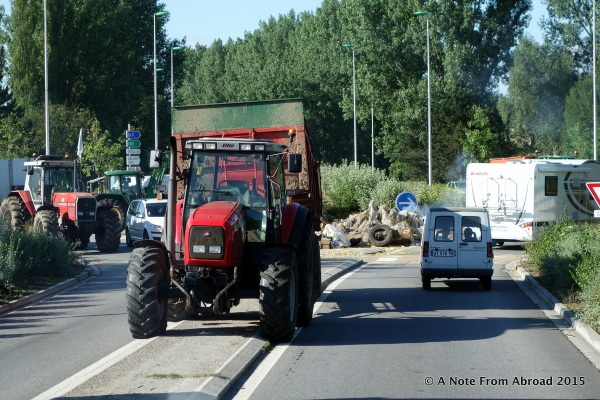 More tractors are arriving