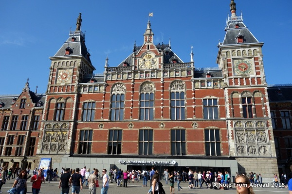 Train station, Amsterdam Central
