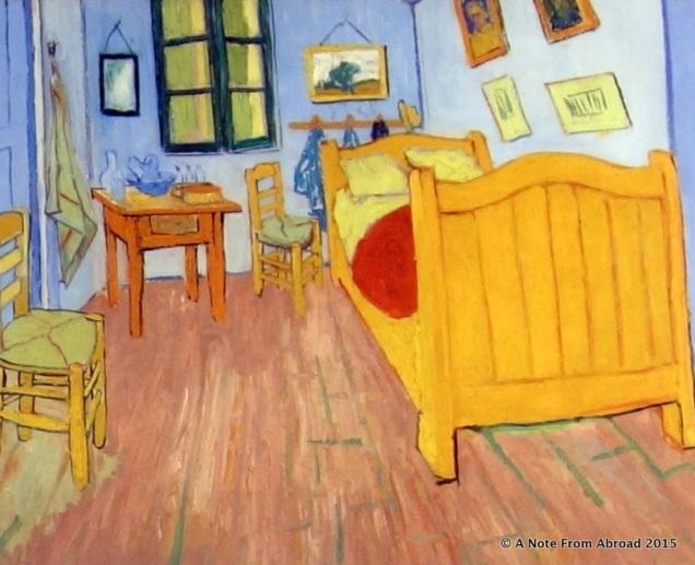 The bedroom, 1888