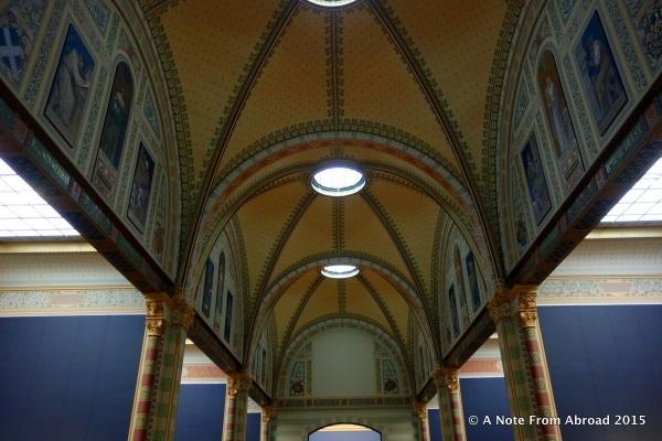 Inside architectural details