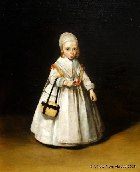 A portrait of Helena van der Schalcke, not quite three years old by Gerard ter Borch c.1648