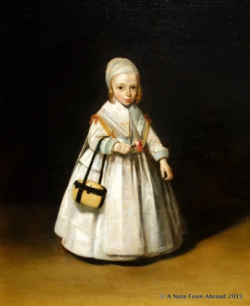 A portrait of Helena van der Schalcke, not quite three years old by Gerard ter Borch c.1648