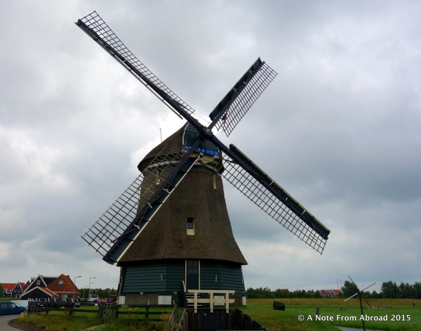 Windmill from the front