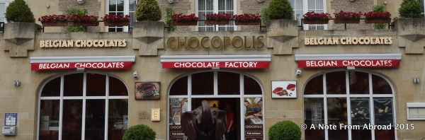 Chocolate stores can be found everywhere