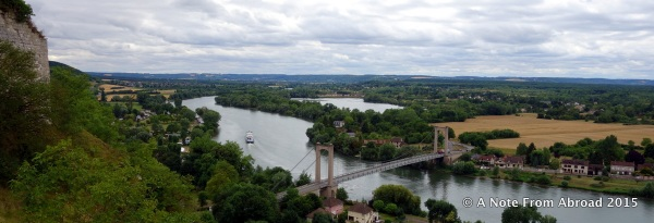 View of the Seine River from the Chateau
