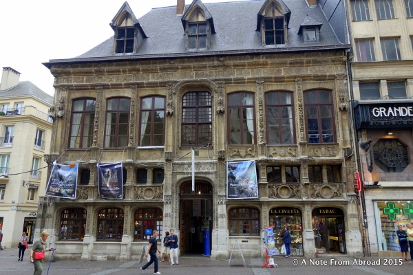 Where Monet stayed while he did his series of Rouen Cathedral paintings