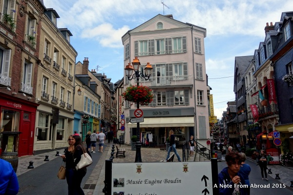 Honfleur streets