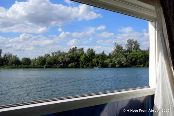 Window open, enjoying the gentle breeze, watching the world drift by...
