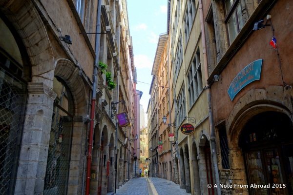 Street scene, Lyon
