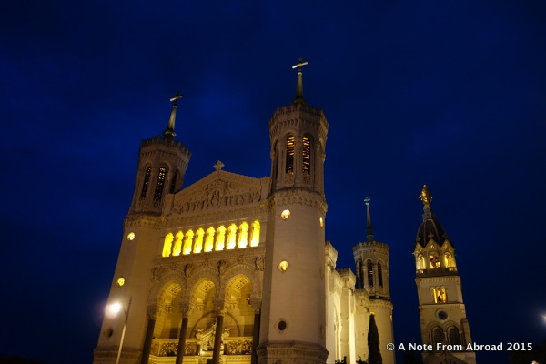Leon Cathedral at night