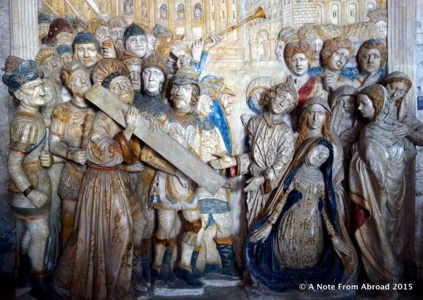 Inside the Popes Palace, Avignon