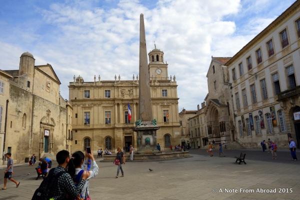 Plaza with Obelisk