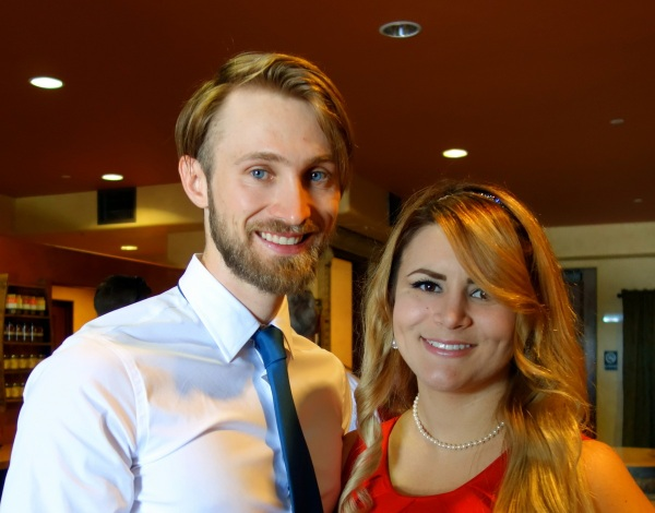 Our son, Dane and his girlfriend, NaReena