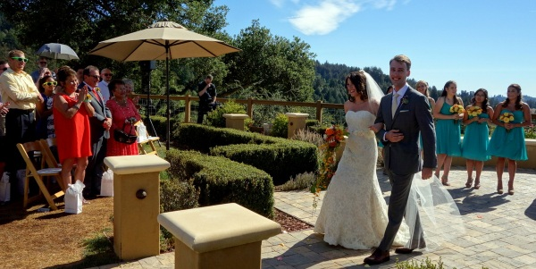 A lovely wedding joining two wonderful families