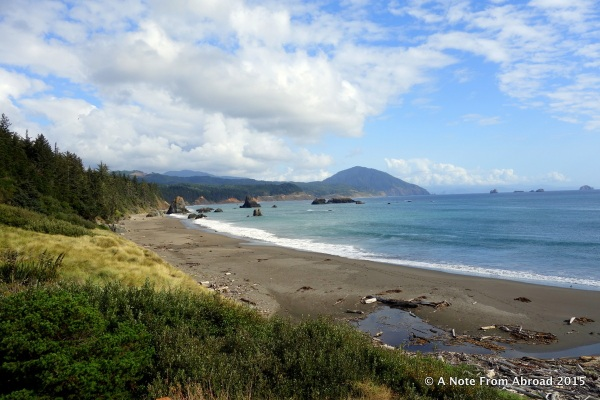 Beach at Port Orford