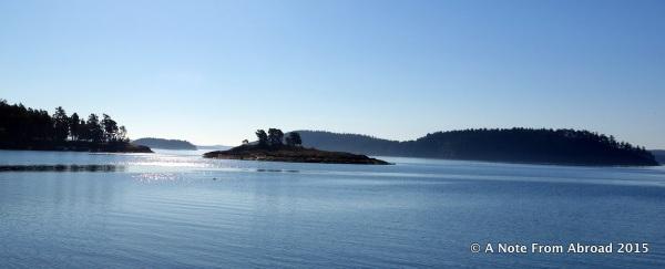 Departing Stuart Island