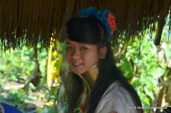 This young lady from the Hill Tribe was stunning