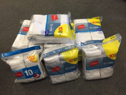 100 Pair of warm socks
