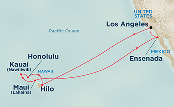 Ruby Princess - Los Angeles to Hawaii