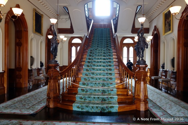 Iolani Palace - Grand Staircase