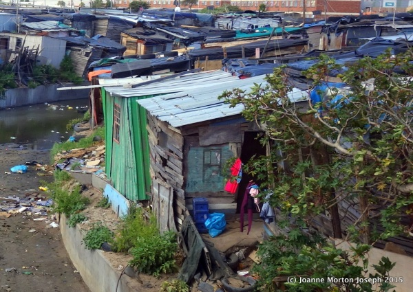 Slums of Cape Town, South Africa