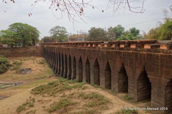 Thousand year old Kompong Krei Bridge