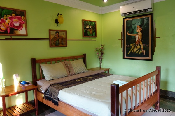 Our room at the Natural Bungalows
