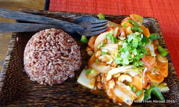 Fabulous meal at the Kampot pepper farm