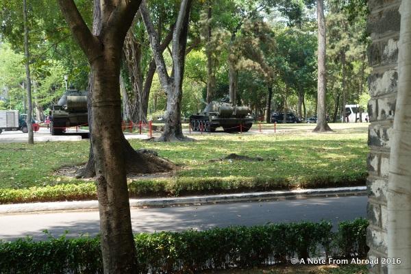 Left over tanks