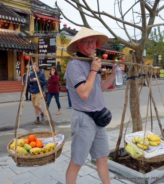 Tim becomes a fruit vender