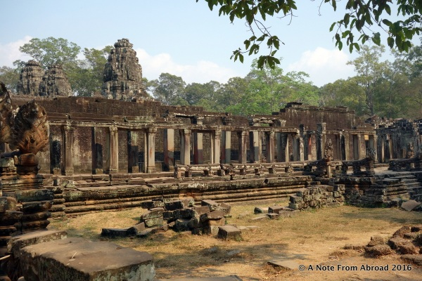 Angkor Thom. We were just about to enter Bayan.