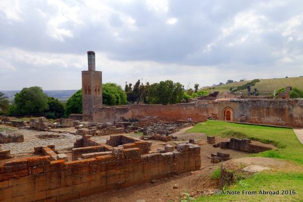 The ruins of Chellah