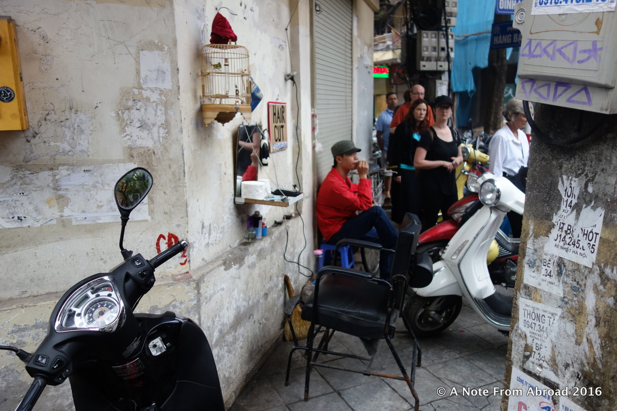 Life on the Streets in Hanoi