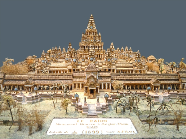 Artist rendering of Angkor Thom during it's prime