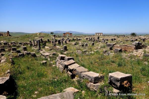Ruins at Volubilis
