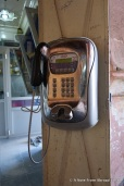 Yes, they still have pay phones. Loved it!
