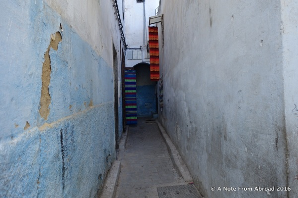 One of thousands of small alleyways