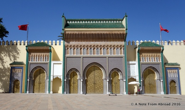 Presidential Palace in Fez