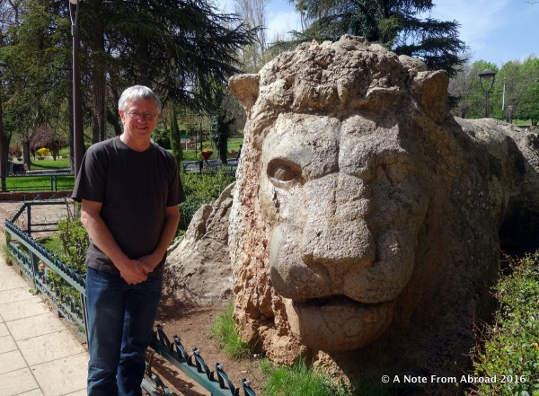 The symbol of the town of Ifrane is the lion.