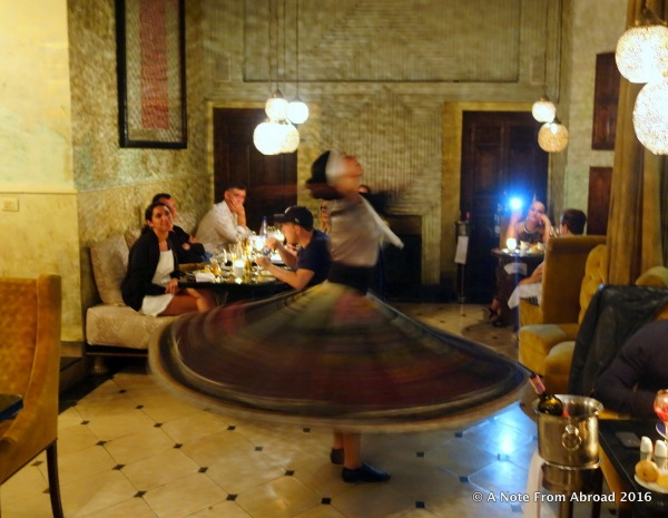 Whirling Dervish style dance