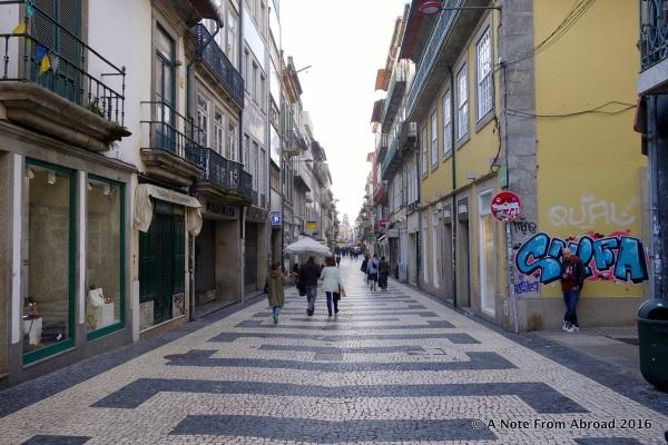 Major walking street