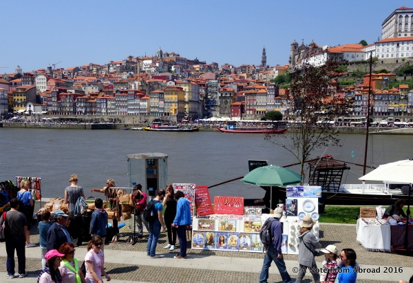 From the other side of the Doura River looking toward Porto